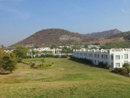 Inder Residency:                   View from Garden