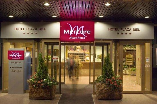 Mercure Plaza Biel : Entrance