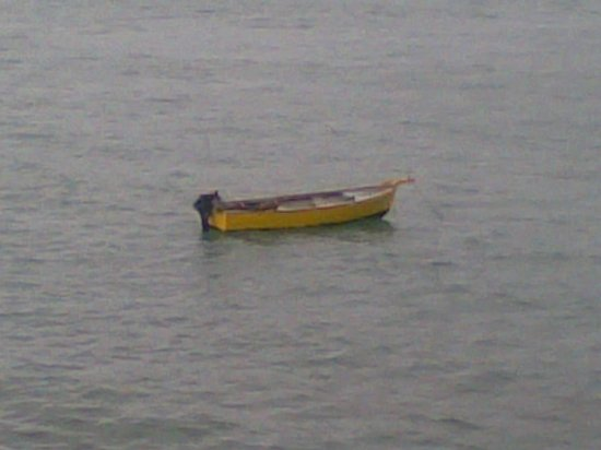 Sarova Whitesands Beach Resort & Spa:                   Taking a nap after a hard day's work on a canoe