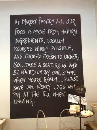 Market Pantry:                   Great Local Produce