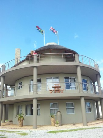 The Roundhouse Guesthouse:                   Cacharias suite on middle floor - huge balcony!