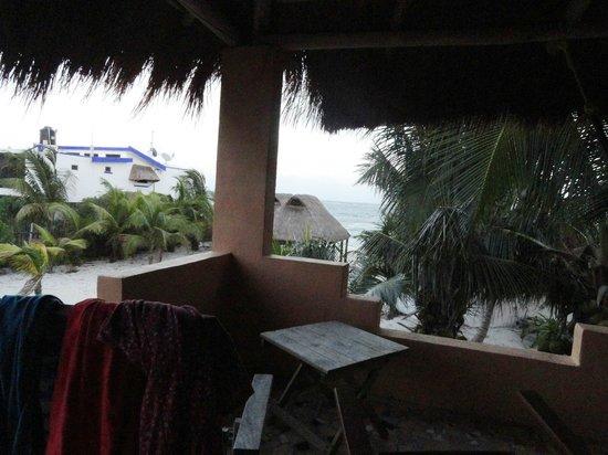 Mayan Beach Garden:                   la veranda