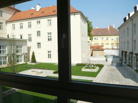 Mandarin Oriental, Prague:                   Courtyard View from Room