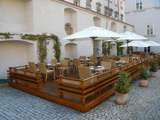 Mandarin Oriental, Prague:                   Outdoor Dining