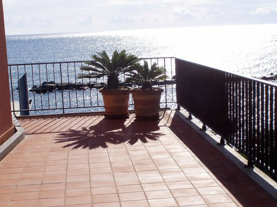 Grand Hotel Diana Majestic:                   panorama dalla terrazza della camera