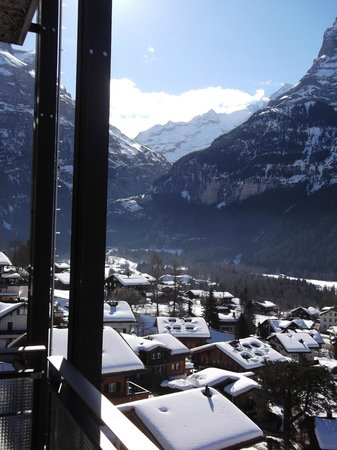 Hotel Belvedere Grindelwald:                   balcony view facing south east