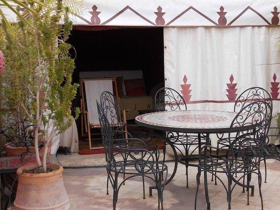 Riad Dalla Santa:                                     la terrasse
