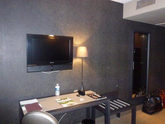 Hotel Les Rives:                   Chambre avec vue sur le lac