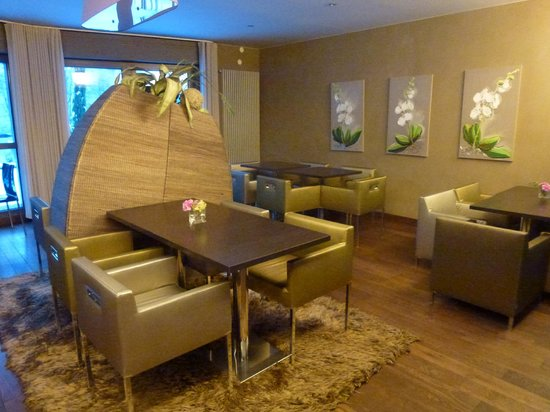 Hotel Les Rives:                   Restaurant petit-déjeuner