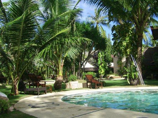 Cebu Marine Beach Resort: der Garten