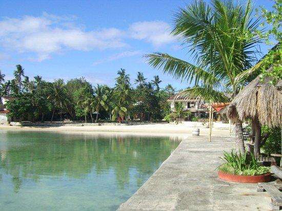 Cebu Marine Beach Resort: Beachbereich