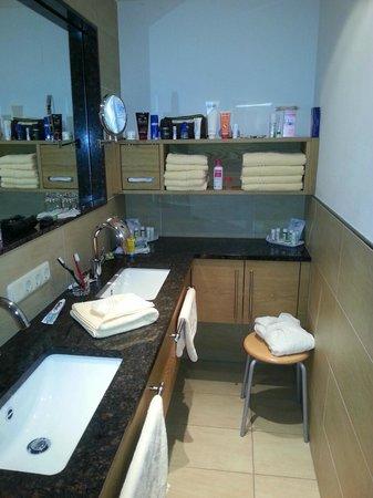 Hotel Sommer:                   salle de bain