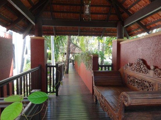Hibiscus Resort & Spa :                   Walkway area
