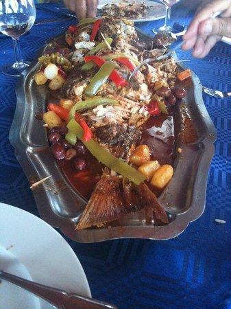 Restaurant du Port :                   tajine
