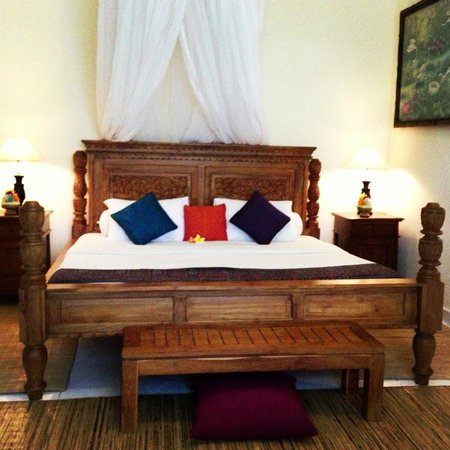 Kebun Indah:                   The beautiful bed