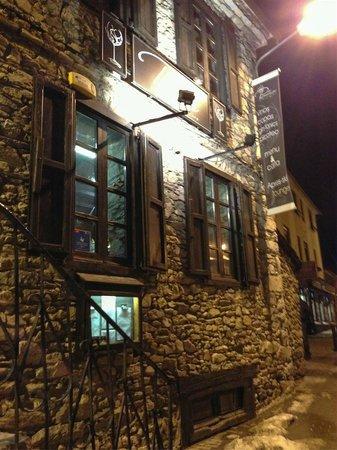 Pinotage Restaurante and Cafe: Fachada del restaurante en Arties