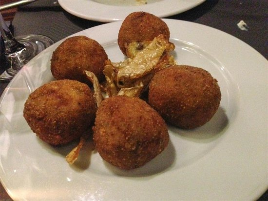 Pinotage Restaurante and Cafe: Croquetas (exquisitas)
