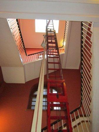 Lothian & Borders Fire & Rescue Service:                   A very long ladder!