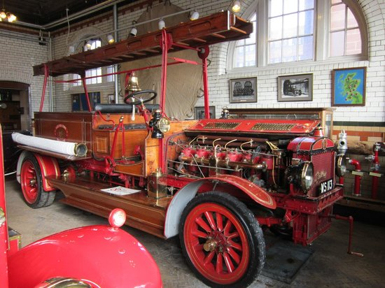 Lothian & Borders Fire & Rescue Service:                   A beautifully preserved vehicle