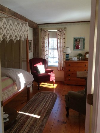 Seth Warner Inn: Private Jesse room