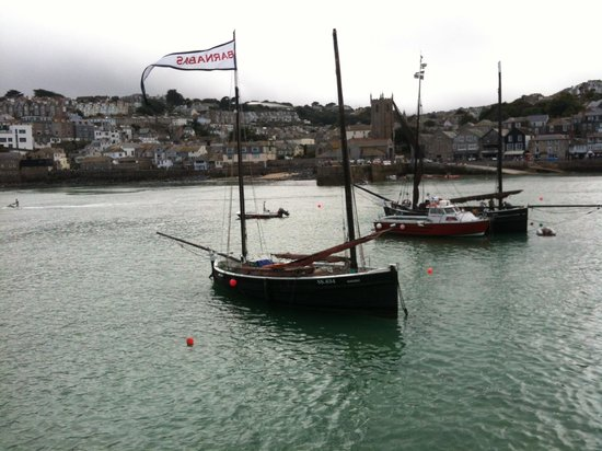 The Keep: Boats visiting St Ives