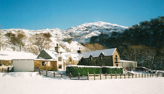 Tyddyn Mawr Farmhouse: The beautiful guesthouse in winter