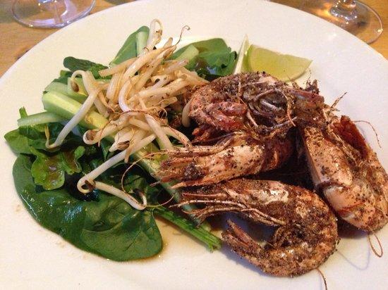 Rick Stein's Cafe:                   Delicious prawn  starter