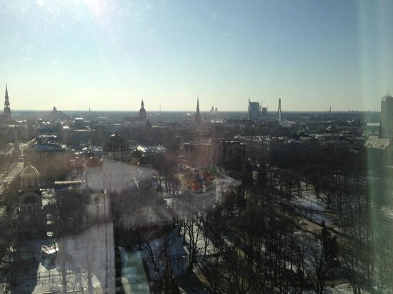 Radisson Blu Hotel Latvija:                   View from 1708