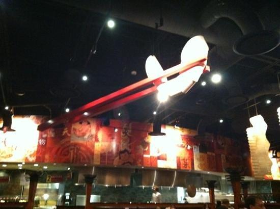 Stir Crazy:                   Giant Chopsticks