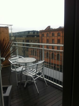 Holiday Inn London - Camden Lock:                   Balcony of Penthouse suite 508