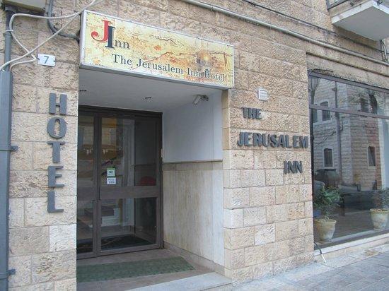 Jerusalem Inn Hotel:                   outside view of hotel