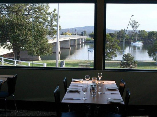 Sid and Sue's: The view from Balcony Restaurant Moruya