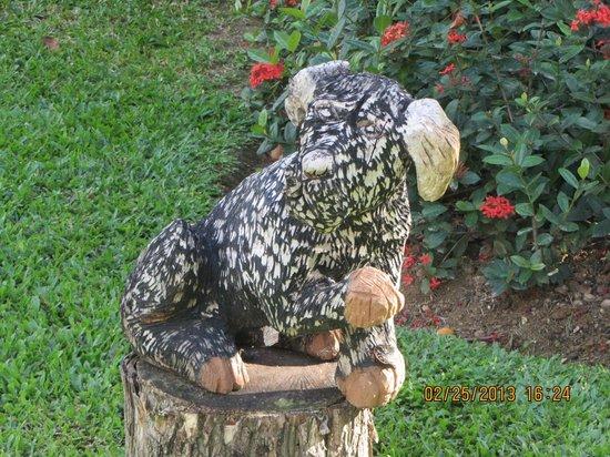 Secrets Wild Orchid Montego Bay:                   dog sculpture