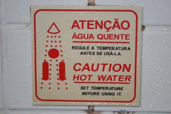 Maraba Hotel Sao Paulo:                   Problem with too much warm water