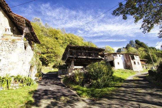 Alojamiento Rural El Navaron: Horreo típico en Cofiño