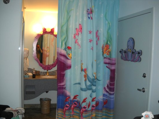 Disney's Art of Animation Resort:                   Ariel room