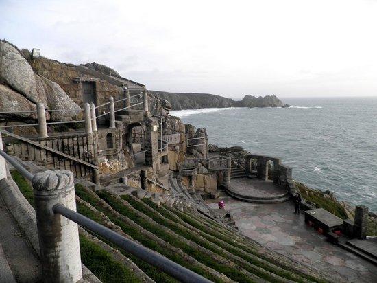 Minack Theatre :                   Beautiful view