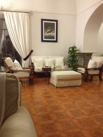 Villa Oliviero : salone