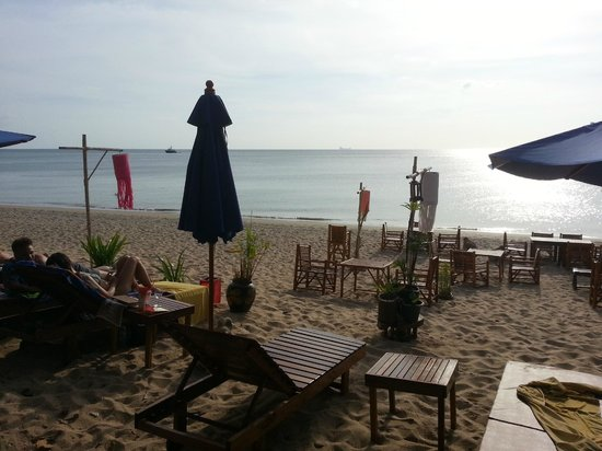 Anda Lay Boutique Resort:                   Beach area