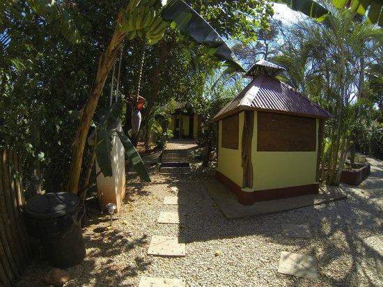 Indra Inn: Entrance