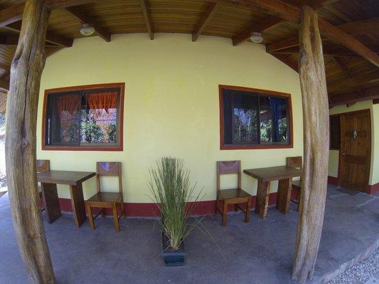 Indra Inn: Fire/Water Terrace