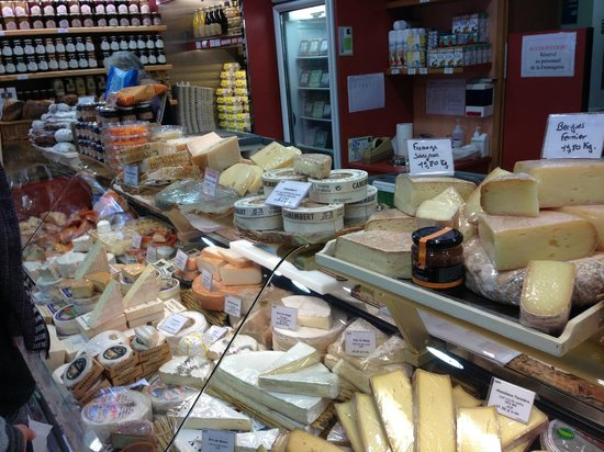 La Fromagerie :                   Huge selection of cheeses and more