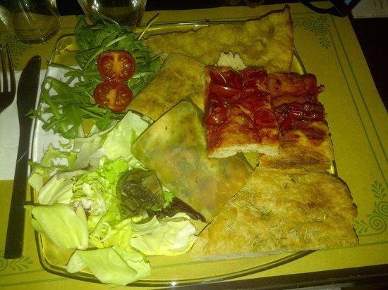 Hosteria Nova Baccanale Cafe : tagliere vegetariano