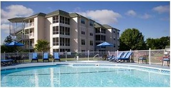 Suites at Fall Creek: Outdoor Pool