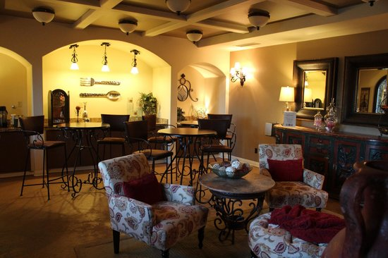 Andreas Hotel & Spa:                   Breakfast area
