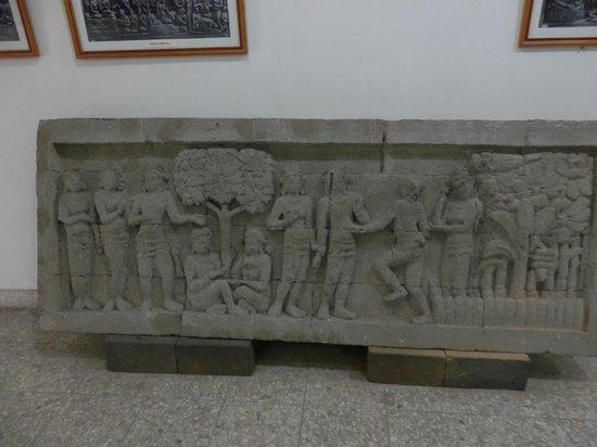 Museum Karmawibangga:                   One of the original friezes