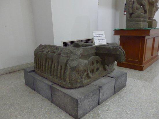 Museum Karmawibangga:                   A decorated carved Yoni