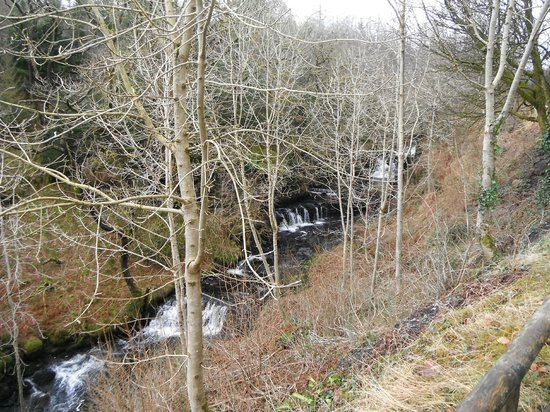 Garwnant Visitor Centre:                   waterfalls