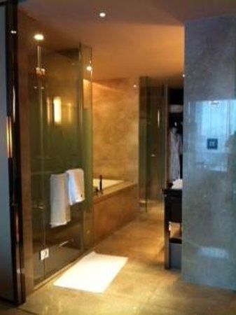 The Westin Pazhou:                   Bathroom area
