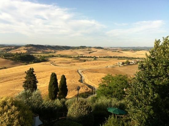 Agriturismo Bellavista Toscana :                   udsigten fra lejligheden